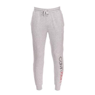 Pantalon de jogging Calvin Klein en molleton chiné floqué Pantalon de  jogging Calvin Klein en molleton 348ea22334e8