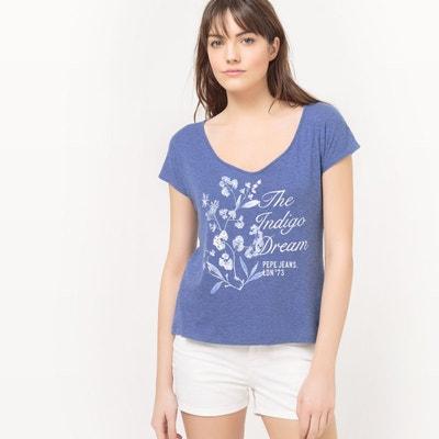 Tee shirt manche courte femme (page 38)  La Redoute f561a2e51208