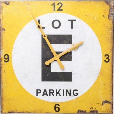 Horloge murale Parking Lot 101x101cm Kare Design Horloge murale Parking Lot 101x101cm Kare Design KARE DESIGN