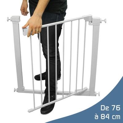 Barrière de sécurité extensible de 76cm à 84cm Barrière de sécurité extensible de 76cm à 84cm MONSIEUR BEBE