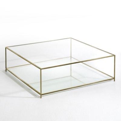Table basse carrée verre trempé, Sybil AM.PM.