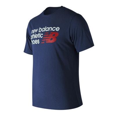 T-shirt de gola redonda e mangas curtas T-shirt de gola redonda e mangas curtas NEW BALANCE