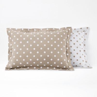 CLARISSE 100% Cotton Pillowcase La Redoute Interieurs