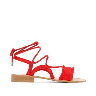 Sandalen, am Fussgelenk zu schnüren, breite Füsse 38-45 CASTALUNA