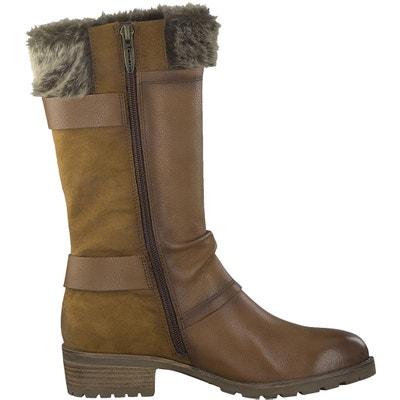 Parai Leather Boots TAMARIS