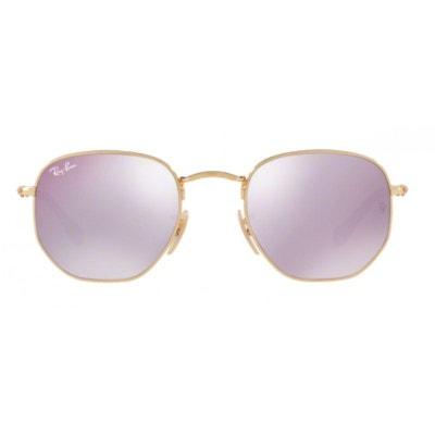 9dabb1c8f6d514 Lunettes de soleil pour homme RAY BAN Violet RB 3548 001 80 54 21