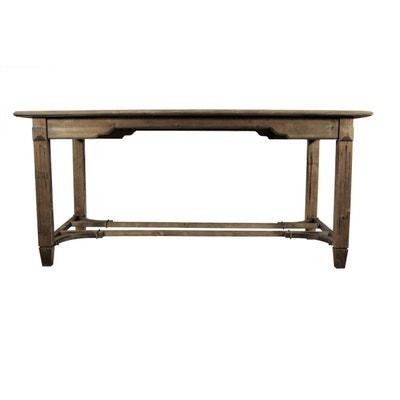 Décoration d'Autrefois - Table Bois 180x90.5x81.5cm Décoration d'Autrefois - Table Bois 180x90.5x81.5cm DECORATION D'AUTREFOIS
