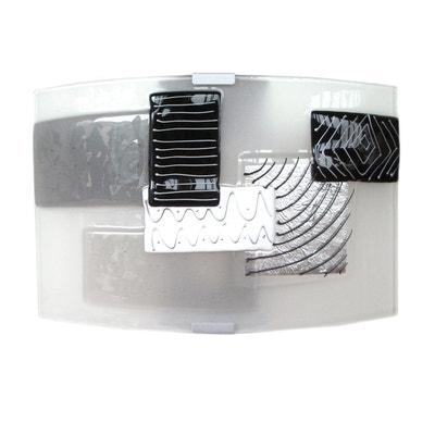 applique murale grise la redoute. Black Bedroom Furniture Sets. Home Design Ideas