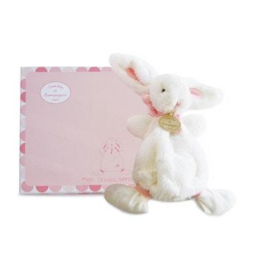 Knuffel roze - Bonbon konijn DOUDOU ET COMPAGNIE
