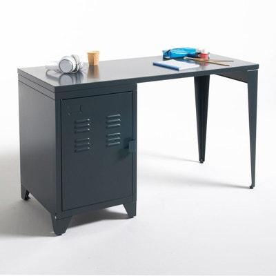 bureau enfant gris en solde la redoute. Black Bedroom Furniture Sets. Home Design Ideas