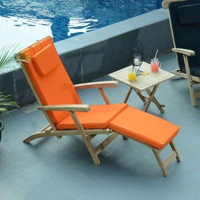 matelas transat jardin la redoute. Black Bedroom Furniture Sets. Home Design Ideas
