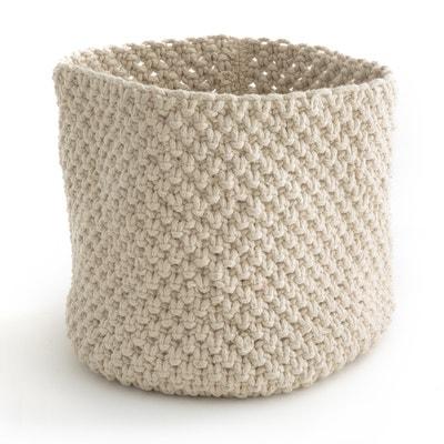 Cesto de arrumação em tricot LOPUPÉ Cesto de arrumação em tricot LOPUPÉ La Redoute Interieurs