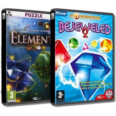 Pack 2 jeux Bejeweled 2 + Elements - Jeux PC Pack 2 jeux Bejeweled 2 + Elements - Jeux PC MINDSCAPE