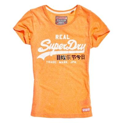Short-Sleeved Crew Neck T-Shirt Short-Sleeved Crew Neck T-Shirt SUPERDRY