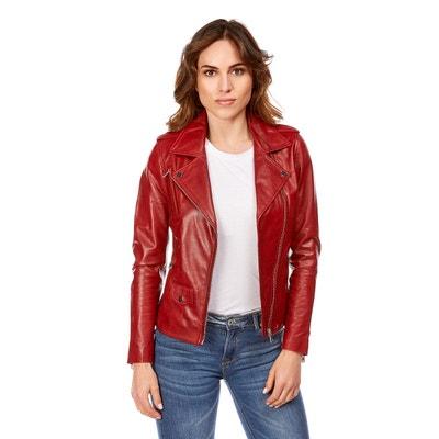 Veste Femme Rouge Taille 54 La Redoute