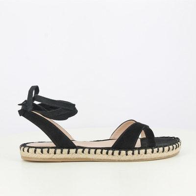 Flat Leather Sandals JONAK