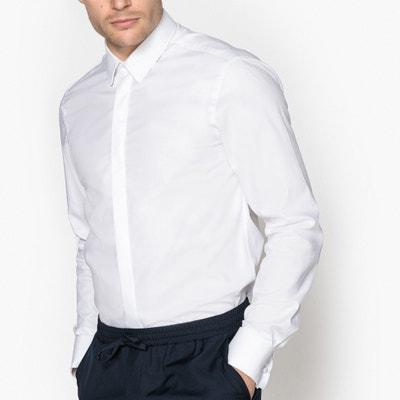 Hemd aus reiner Baumwolle, Slim-Fit Hemd aus reiner Baumwolle, Slim-Fit La Redoute Collections