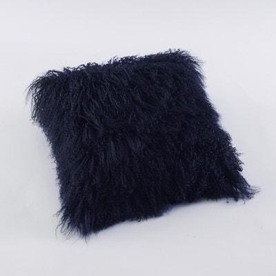 Capa de almofada em lã da Mongólia Capa de almofada em lã da Mongólia La Redoute Interieurs