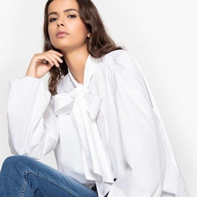 Langärmelige Bluse mit Schleife Langärmelige Bluse mit Schleife La Redoute Collections
