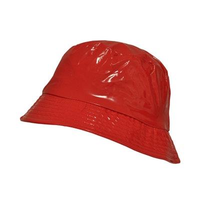 Chapeau de pluie imperméable - Bob aspect ciré TOUTACOO