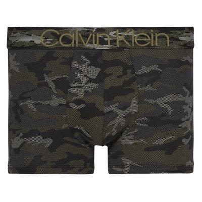 Boxer imprimé camouflage en coton stretch Boxer imprimé camouflage en coton stretch CALVIN KLEIN