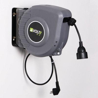 VOLTR - Rallonge électrique murale câble de 15m , enrouleur de jardin automatique avec sécurité thermique, 3200W VOLTR - Rallonge électrique murale câble de 15m , enrouleur de jardin automatique avec sécurité thermique, 3200W ALICE S GARDEN