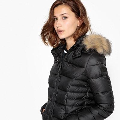 Short Mid-Season Hooded Padded Jacket Short Mid-Season Hooded Padded Jacket KAPORAL 5