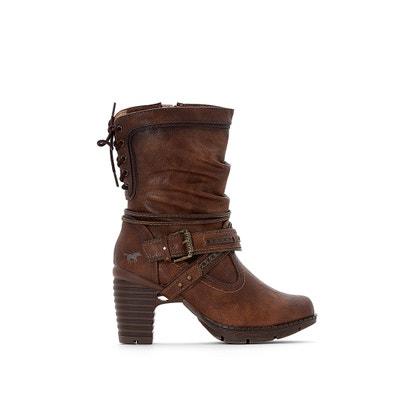 Stiefel mit Absatz und Schnalle Stiefel mit Absatz und Schnalle MUSTANG SHOES