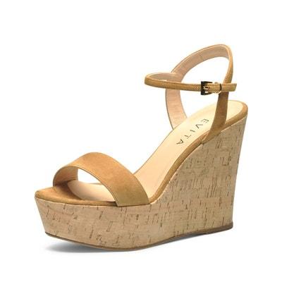 sandales au talon compensé sandales au talon compensé EVITA
