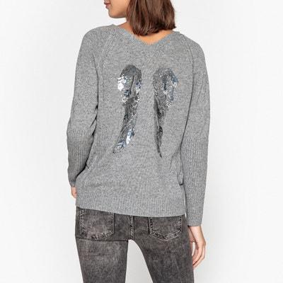 Pullover EBENE, Feinstrick, V-Ausschnitt Pullover EBENE, Feinstrick, V-Ausschnitt BERENICE