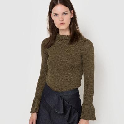 Пуловер с высоким воротником Пуловер с высоким воротником Atelier Bartavelle x La Redoute