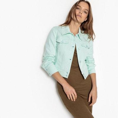 Veste courte en jean Veste courte en jean La Redoute Collections