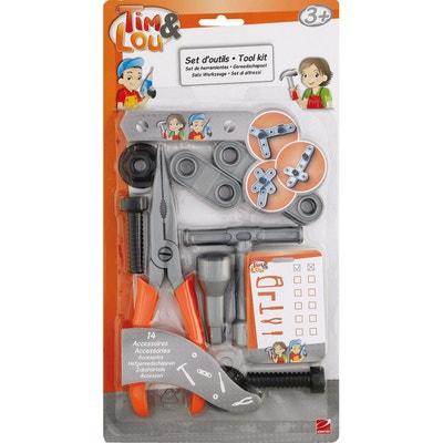 Set d'outils de bricolage : Pince et accessoires Set d'outils de bricolage : Pince et accessoires TIM ET LOU