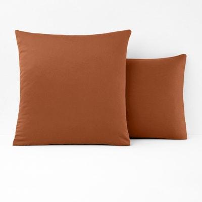 Funda de almohada lisa de saten lavado VARÈSE Funda de almohada lisa de saten lavado VARÈSE La Redoute Interieurs