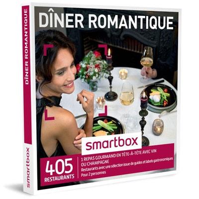 Dîner romantique - Coffret Cadeau Dîner romantique - Coffret Cadeau SMARTBOX