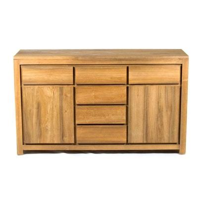 Meuble salon bois massif | La Redoute