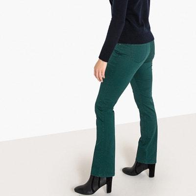 Pantalon droit coton stretch Pantalon droit coton stretch La Redoute Collections