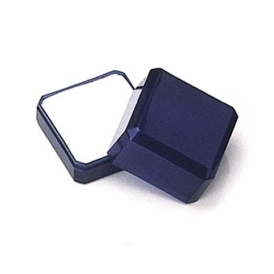 Ecrin Coffret Bleu Marine Bague 40 x 40 x 32 mm Plastique Ecrin Coffret Bleu Marine Bague 40 x 40 x 32 mm Plastique SO CHIC BIJOUX