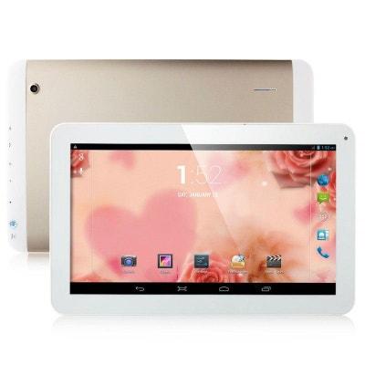 Tablette tactile 10 pouces 3G Double SIM Quad Core WiFi GPS 20Go Or Tablette tactile 10 pouces 3G Double SIM Quad Core WiFi GPS 20Go Or Yonis