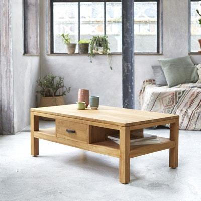 Table Basse En Bois De Teck 110x60 Vertigo TIKAMOON