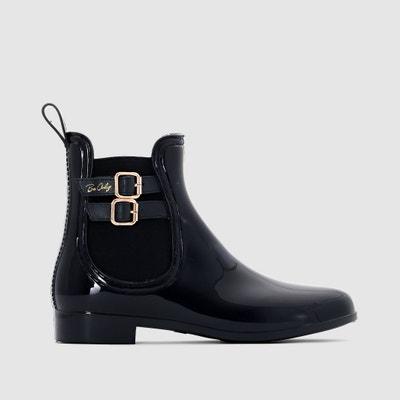 Regen boots in chelseastijl met bandjes BE ONLY