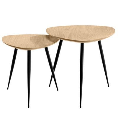 Tables basses scandinaves Quercus (lot de 2) RENDEZ VOUS DECO