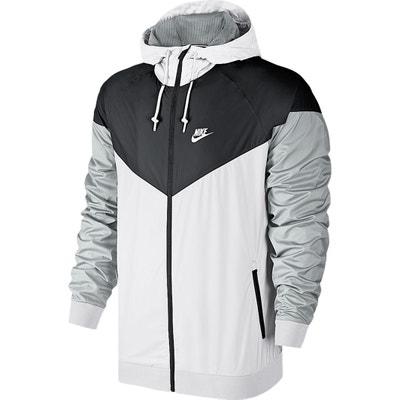 Two-Tone Zip-Up Hooded Jacket Two-Tone Zip-Up Hooded Jacket NIKE