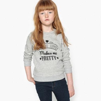 Beautiful Summer Print Sweatshirt, 3-12 Years La Redoute Collections