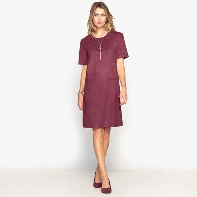 Kleid in Veloursleder-Optik ANNE WEYBURN
