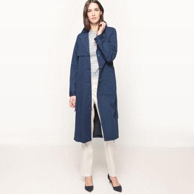 Manteau long, effet denim, à ceinture Manteau long, effet denim, à ceinture LA REDOUTE COLLECTIONS