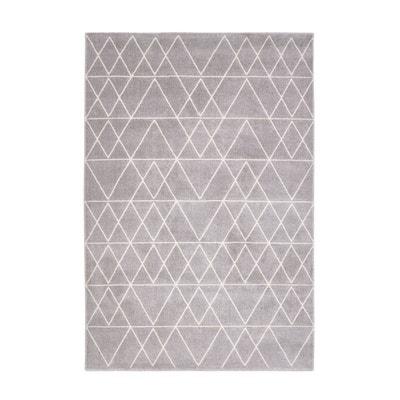 tapis fedro tapis fedro la redoute interieurs - Tapis Gris