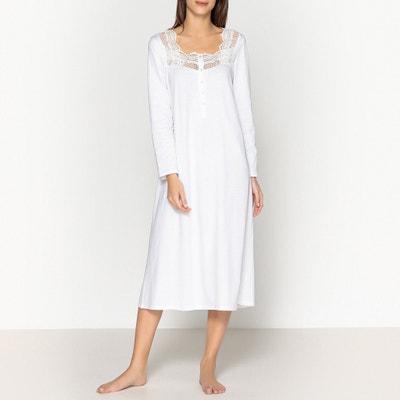 Camisa de dormir em algodão Camisa de dormir em algodão ANNE WEYBURN