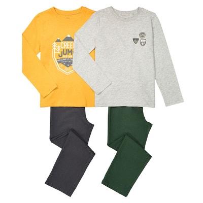 Lot de 2 pyjamas imprimés, 3-12 ans Lot de 2 pyjamas imprimés, 3-12 ans LA REDOUTE COLLECTIONS