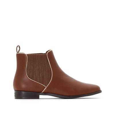 Boots chelsea détail doré CASTALUNA